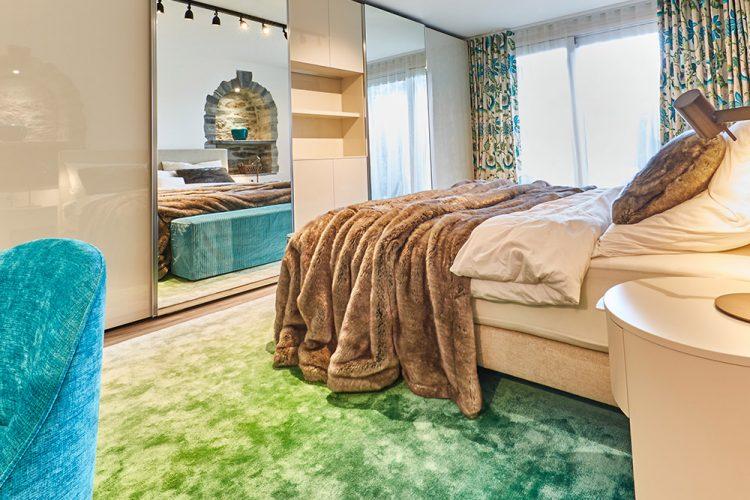 Farbverlauf Teppich
