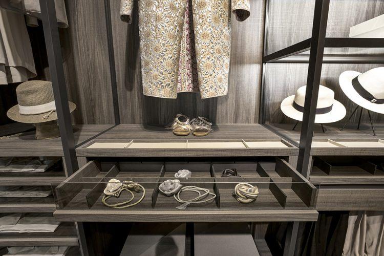 Kleiderschrank-Inneneinteilung