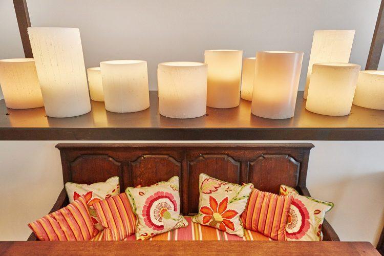 LED-Kerzen-Pendelleuchte